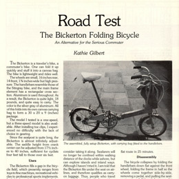 Bicycling Magazine - September 1976