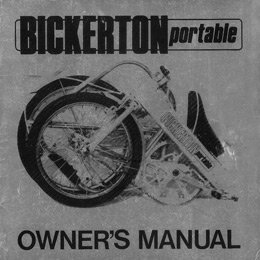 Bickerton Owner's Manual - Silver